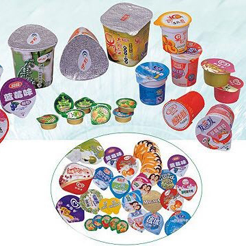 Which material is suitable for die cut aluminum foil for yogurt?